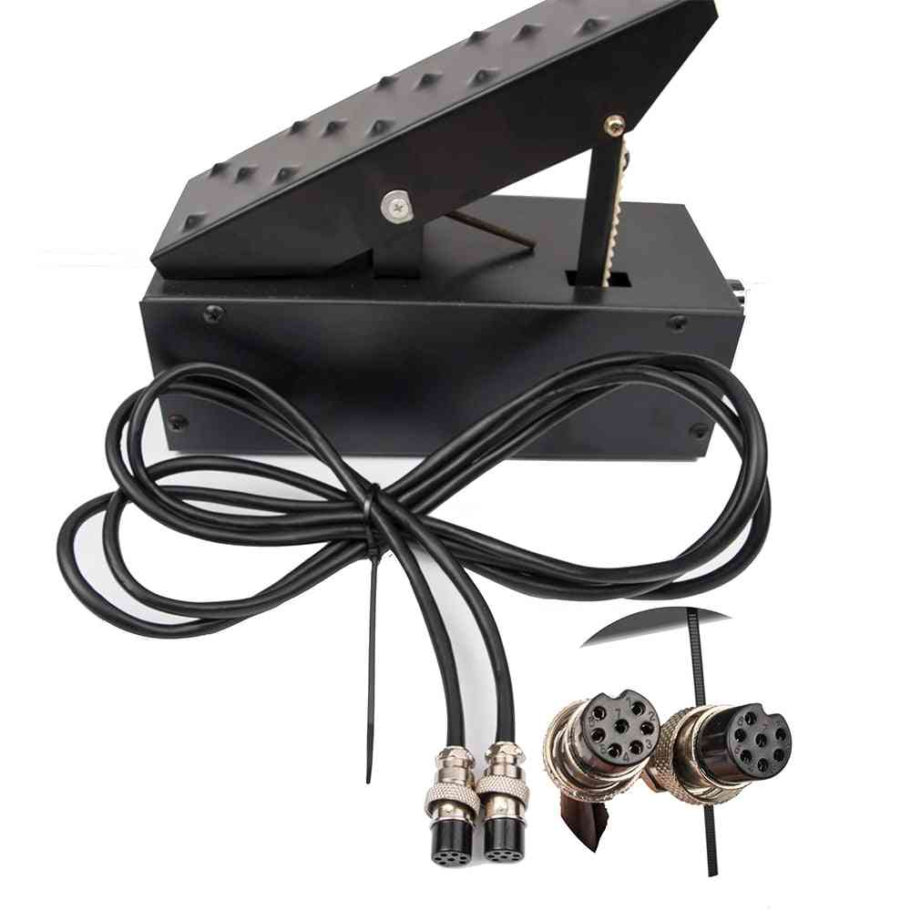 7-pins Amperage, Controller Foot Pedal For Tig Welding Machine