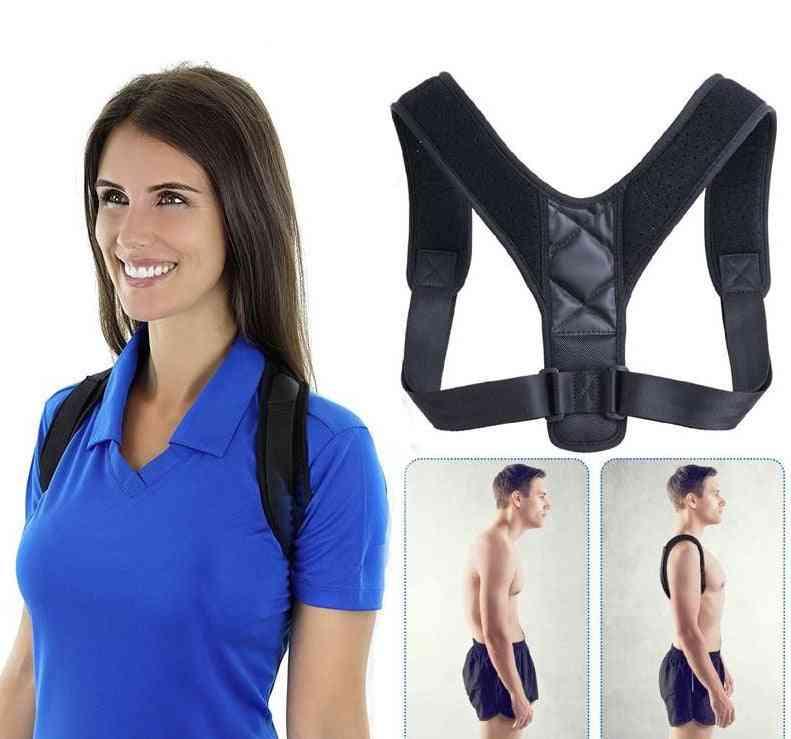 Adjustable Clavicle Spine Back, Shoulder, Lumbar Posture Corrector