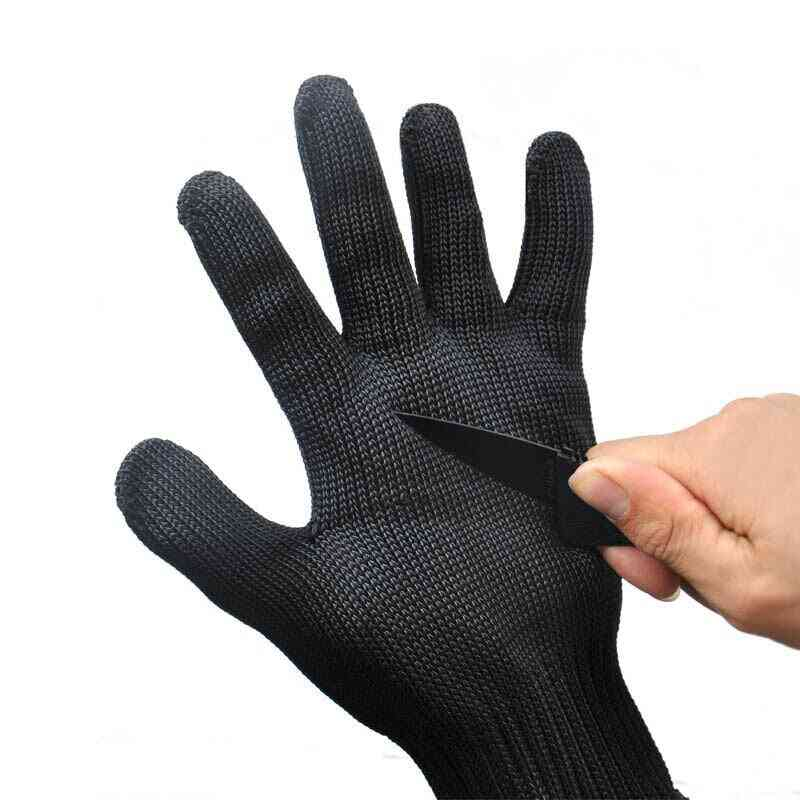 1 Pair High Quality, Anti-cut , Wire Safety Gloves
