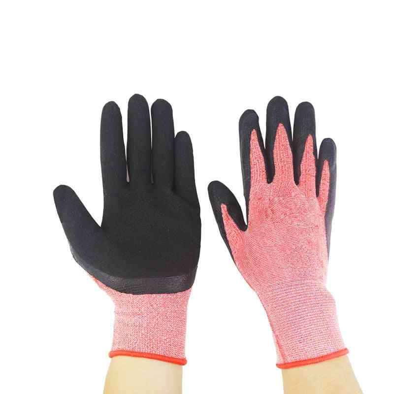 Nitrile Coated, Waterproof And Wear-resistant Rubber Garden Gloves Tools