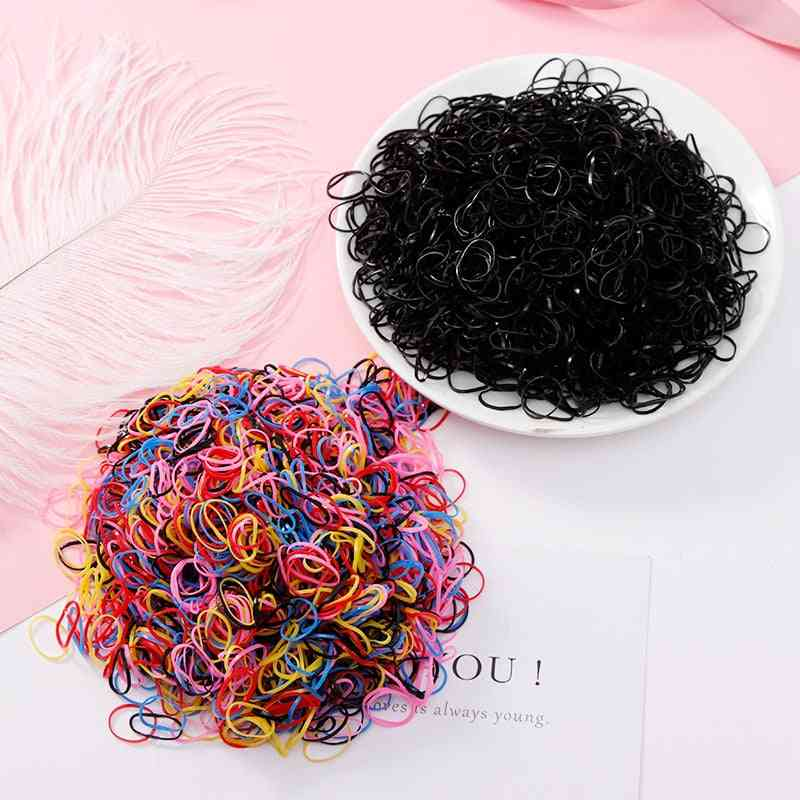 Tpu Rubber Bands Ponytail Holder, Accessories