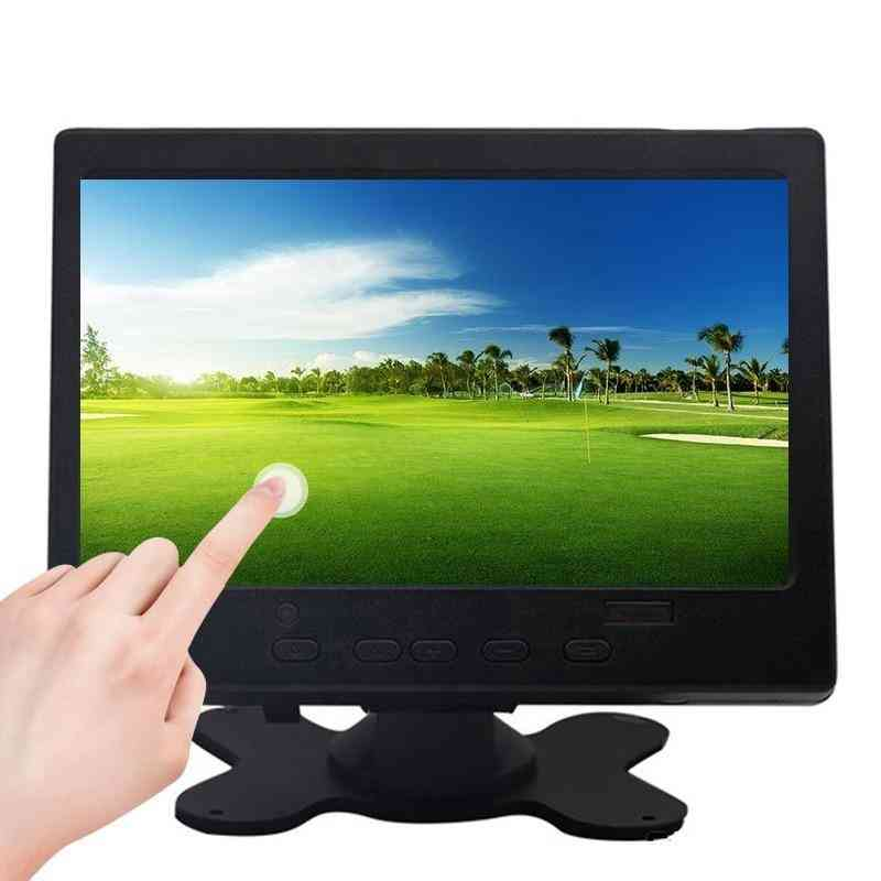 Hdmi Touch Mini Small Lcd / Cctv Full Hd Portable Monitor For Car Reverse View