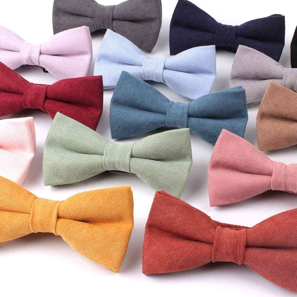 Men's Classic Shirts Bowknot Tie For Wedding