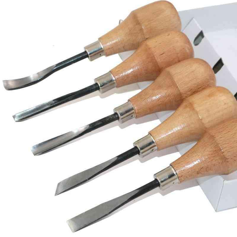 Woodcut Knife - Butt/ Corner/ Skew/ Round/ Arc Machete, Chisel Carving, Prints Graver