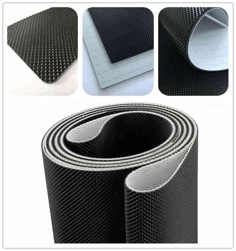 Glof Pattern, Pvc Treadmill Belt With Low Noise Fabric