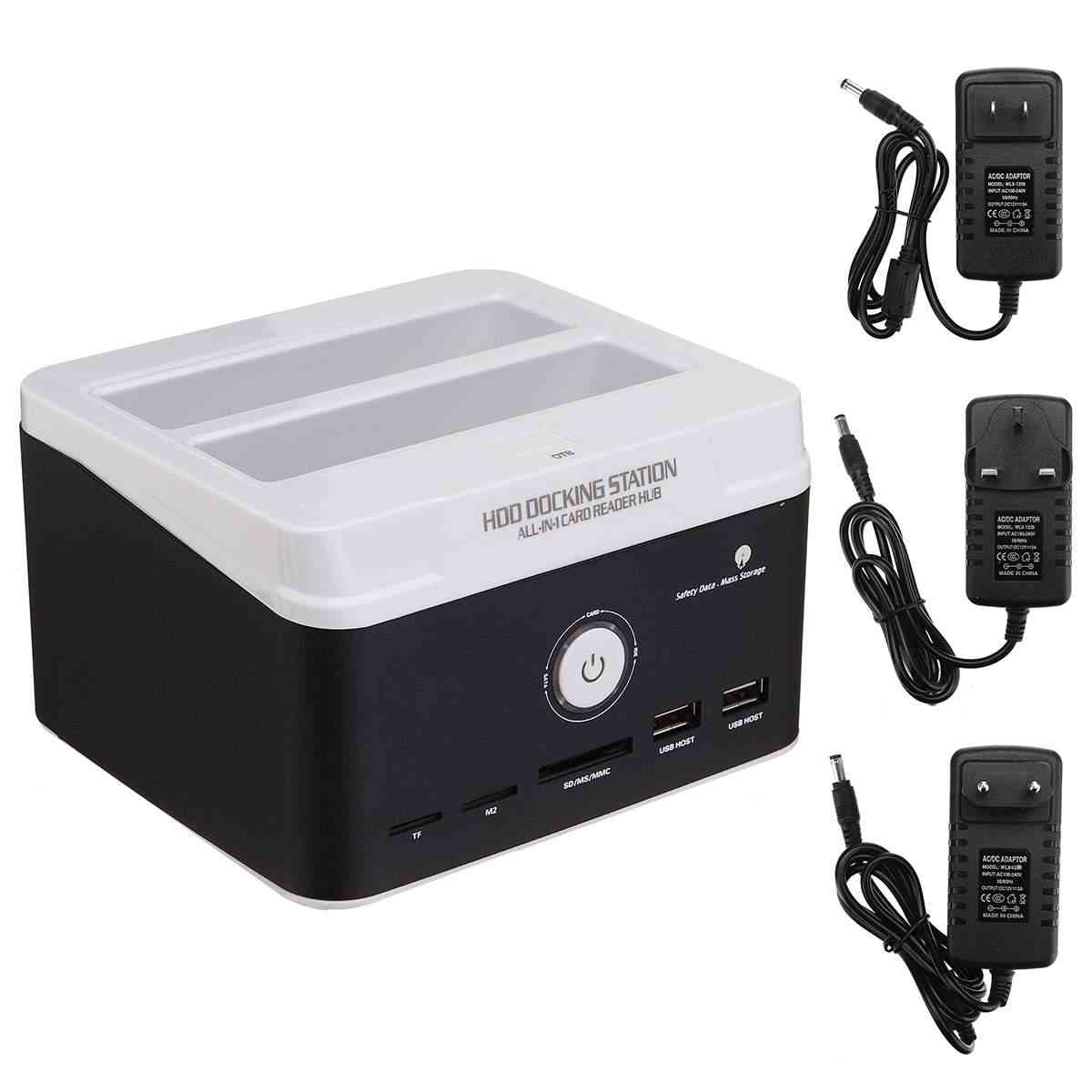 All In One Hdd Docking Station For 2.5/3.5 Inch Ide/sata Internal Hard Disk Drive