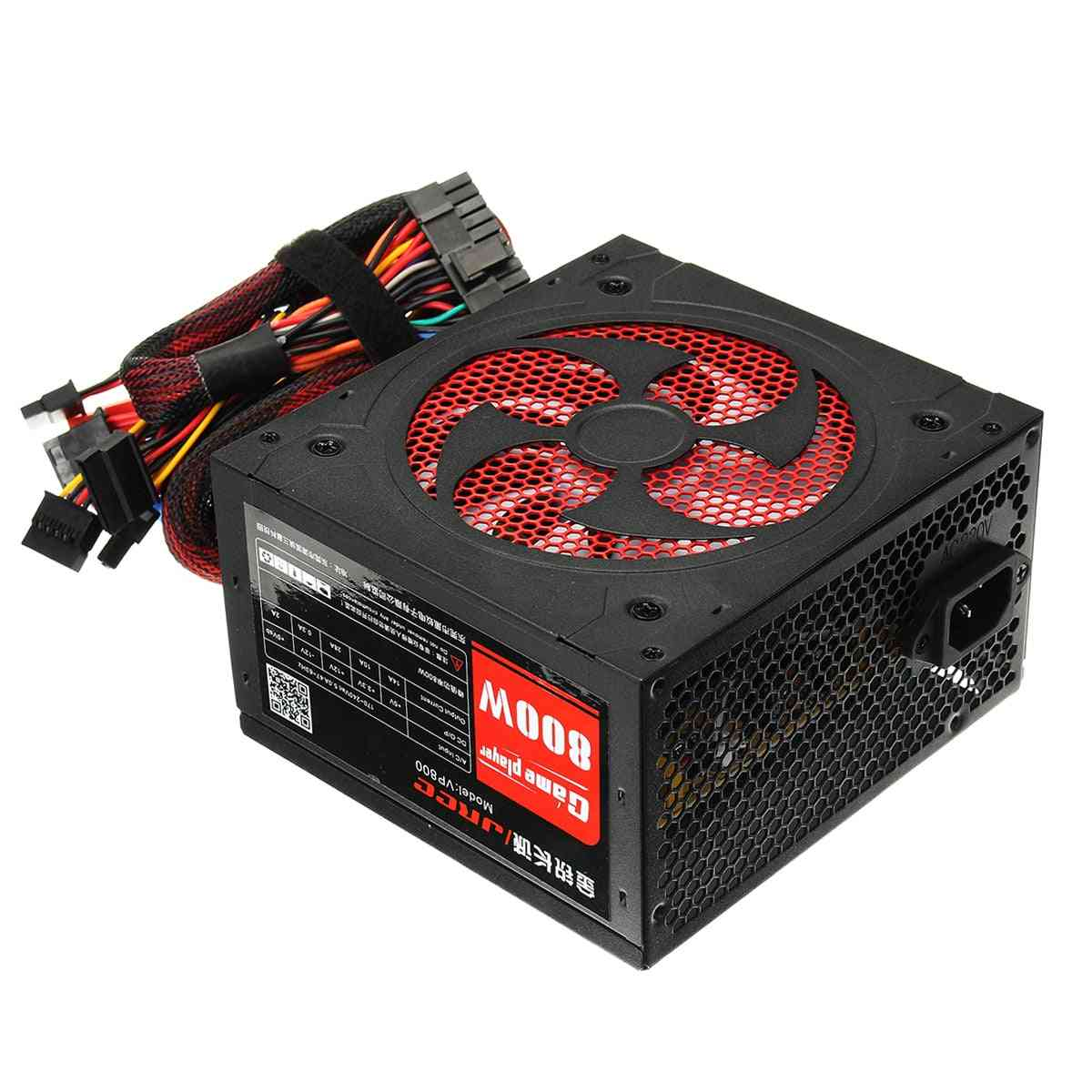 Power Supply Pfc Silent Fan For Gaming Computer