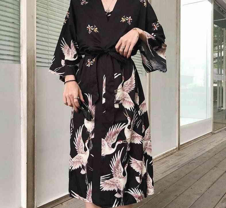 Kimono Traditional Cosplay Blouse Shirt For Woman's