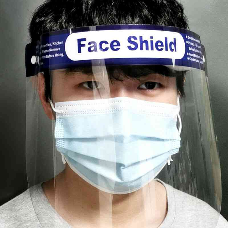 Anti-dust, Empty Top Cap, Full Face Protective Shield Headwear