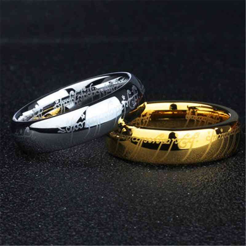 Stainless Steel Rings And Women Titanium
