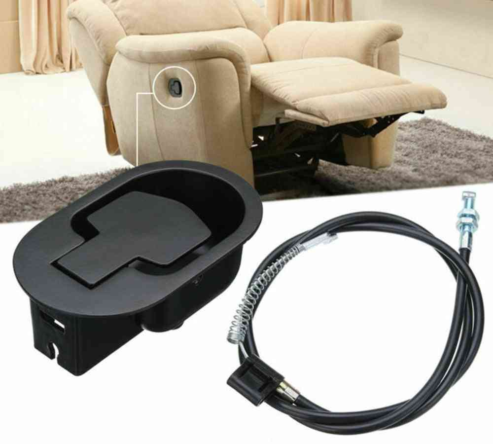 Metal Chair/ Sofa Easy Install Release Lever Cable Recliner Handle Set
