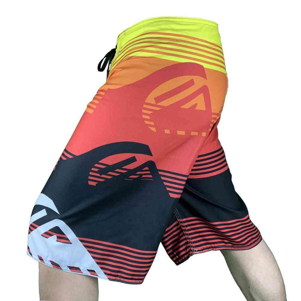 Summer Board Shorts, Men Quick Dry Swimming Trunks Swimwear