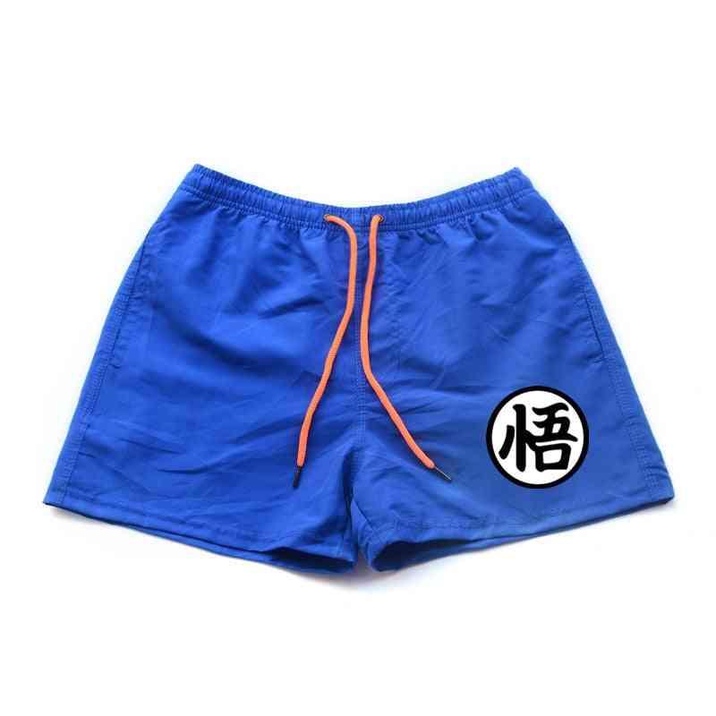 Mens Casual Shorts, Summer Print Pants Beach Shorts Swimwear