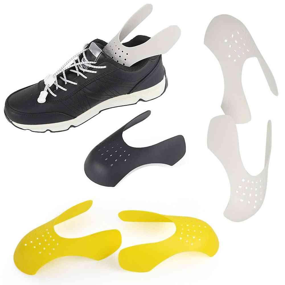 Practical Shoe Stretcher Bending Crack Anti Crease Toe Cap Support Keeping Expander Sneaker