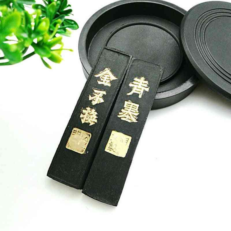 Solid Pine Soot Calligraphy - Chinese Painting Ink Block Writing Inker