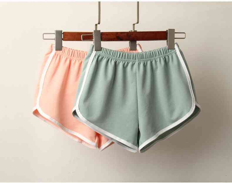 Women Summer Anti Emptied Skinny Casual Sports Lady Short Pants