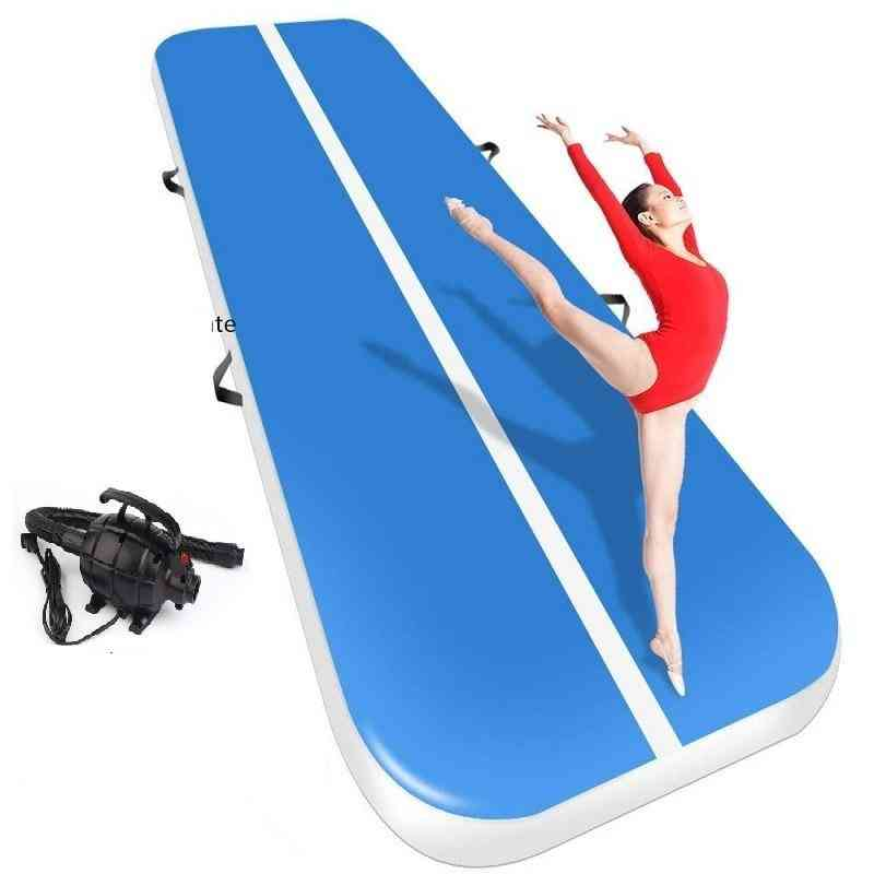 Inflatable Air Track Gymnastics Mat With Pump