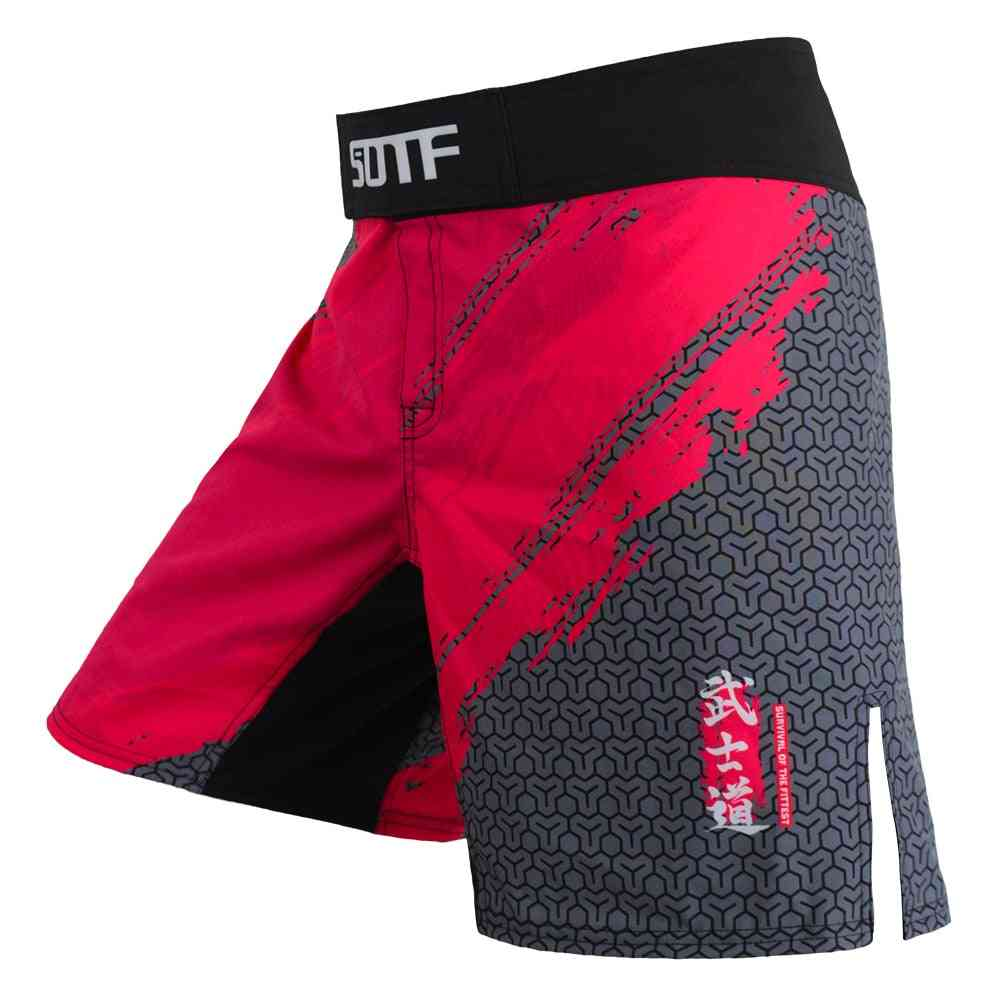 Boxing Sports Fitness, Monkey Personality Breathable Loose Shorts