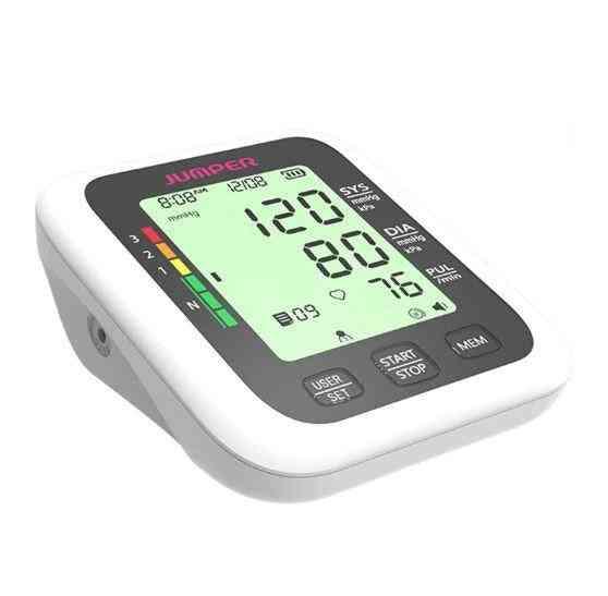 Portable Digital Upper Arm Blood Pressure Monitor