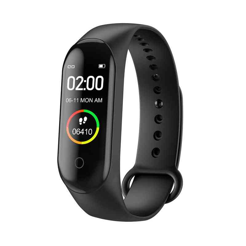Heart Rate Blood Pressure Monitor Smart Bracelet With Bluetooth Function