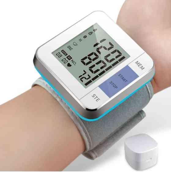 Health Care Smart Digital Display Wrist Blood Pressure Monitor