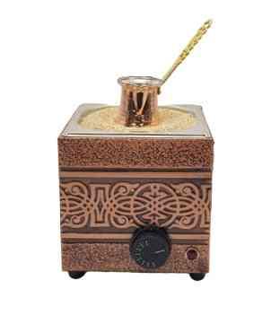 English Sand Coffee Copper Brewer Machine With Copper-pot