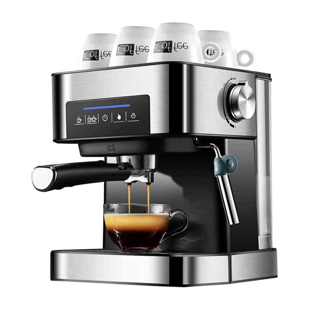 Espresso Stainless Steel Coffee Machine, Semi Automatic Tea Maker