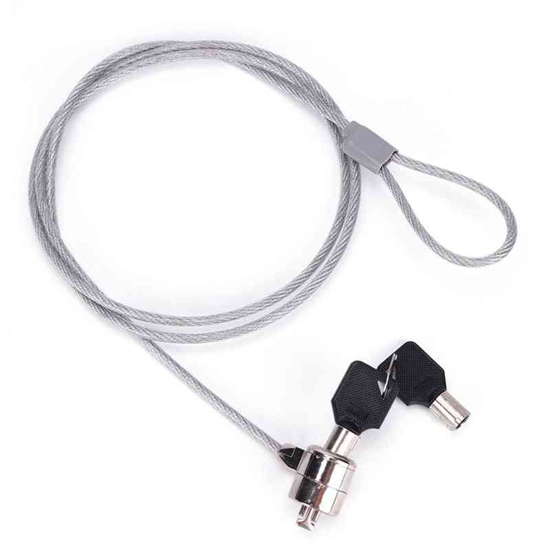 Anti-theft Office Notebook/laptop/computer Desk Security Lock Chain Cable