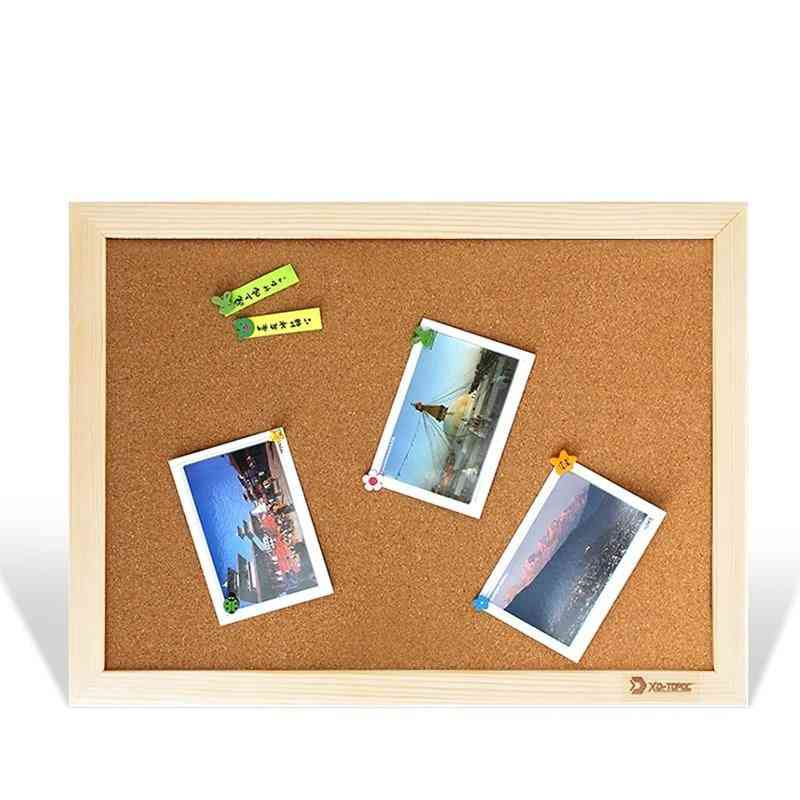 Bulletin Wooden Frame Pin Memo, Message Boards
