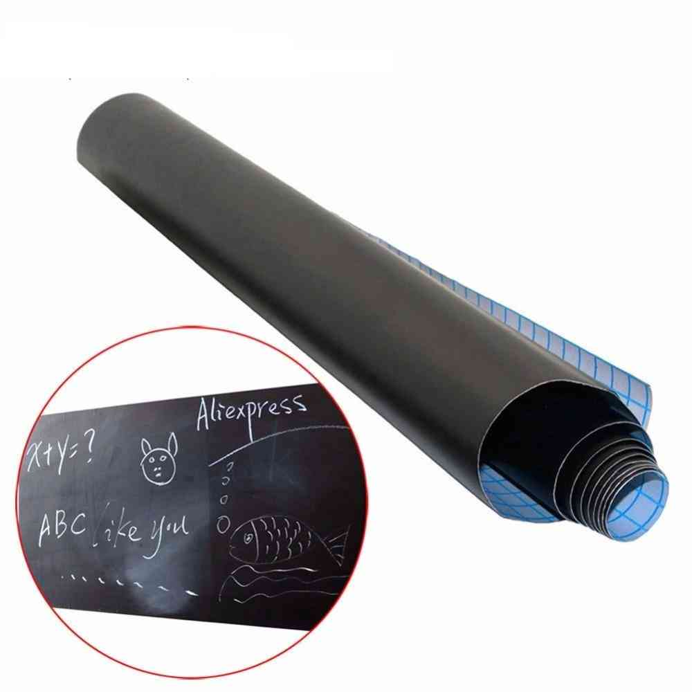Removable Vinyl Draw, Erasable Blackboard Sticker