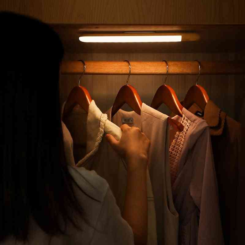 Human Body Induction Wardrobe Light, Rechargeable Usb Led Lamp