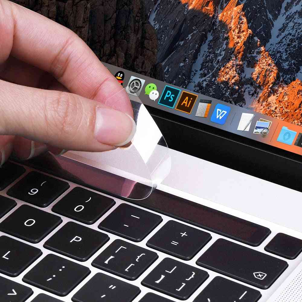 Touch Bar Clear Film Protector Skin Sticker For Macbook Pro