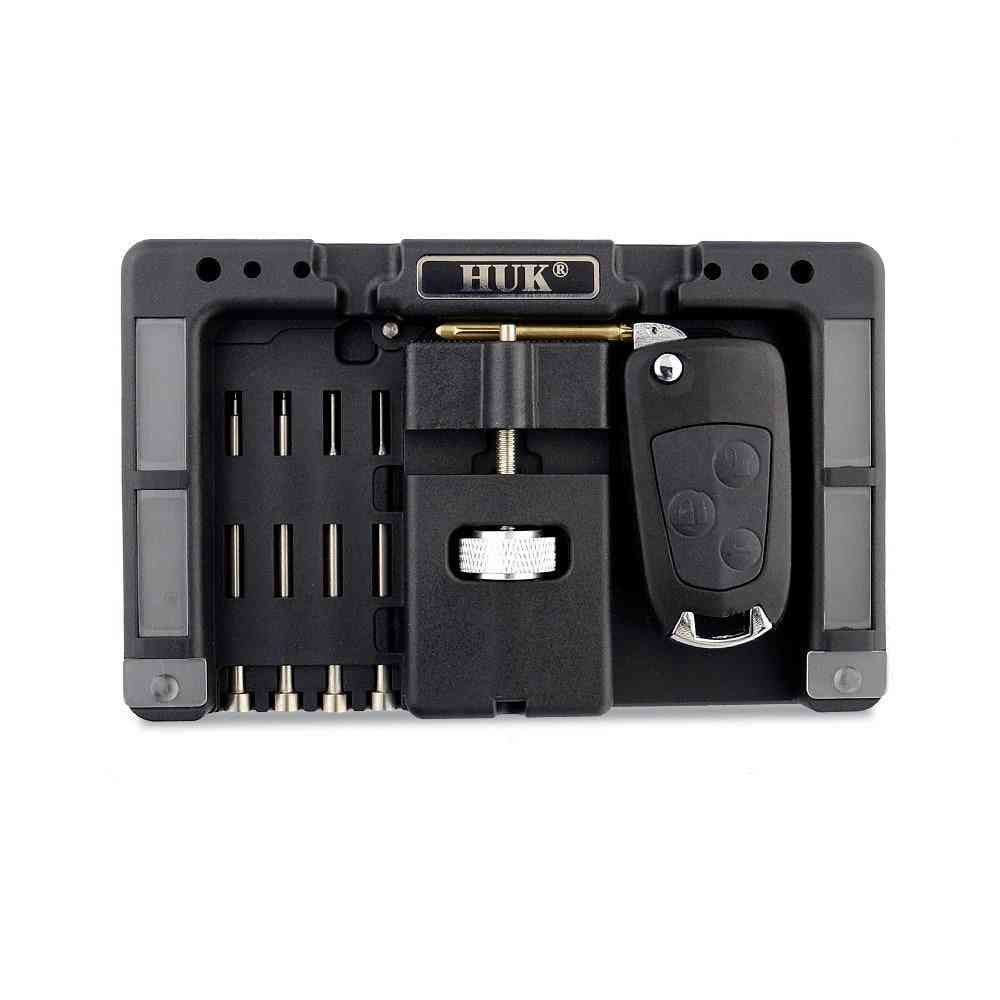 Key Fixing, Vice Of Flip-key Pin Remover For Locksmith Tool With Four Pins