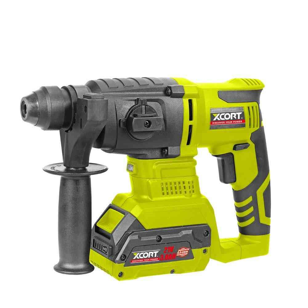 21v- Electric Lithium, Rotary Hammer, Electric Perforator, Power Drill, Without Battery