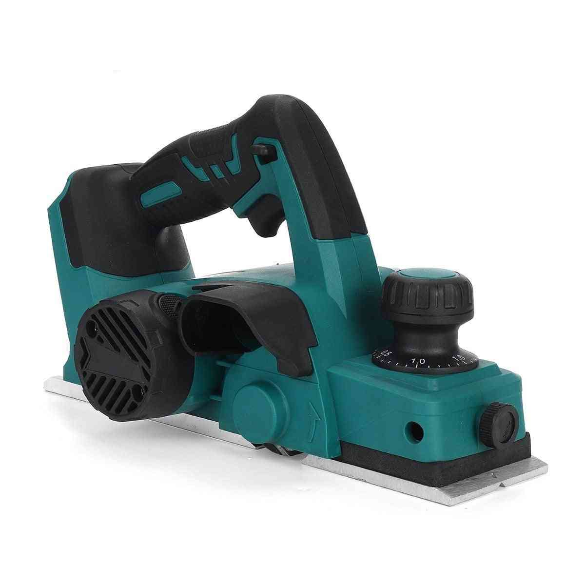 Cordless Electric Planer With Wrench Handheld Rechargeable For Wood Cutting