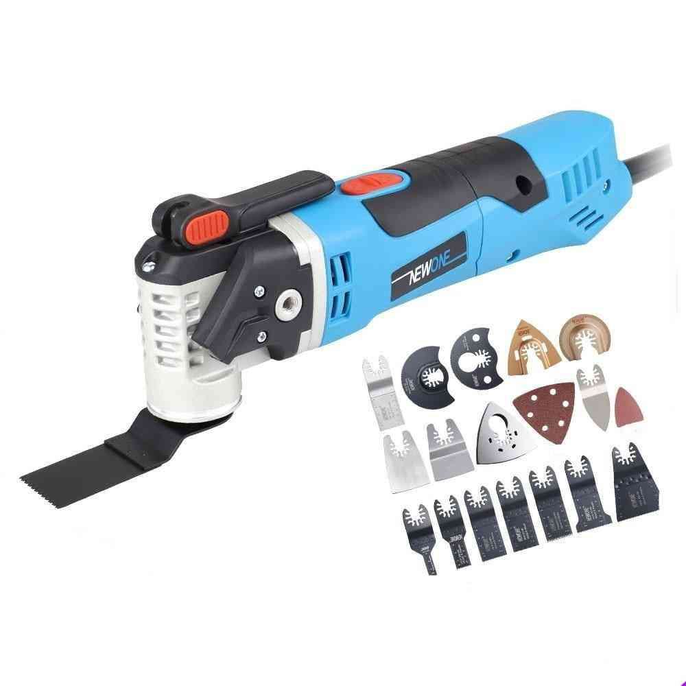 Electric Trimmer, Variable Speed, Multifunction Oscillating Kit, Power Tool