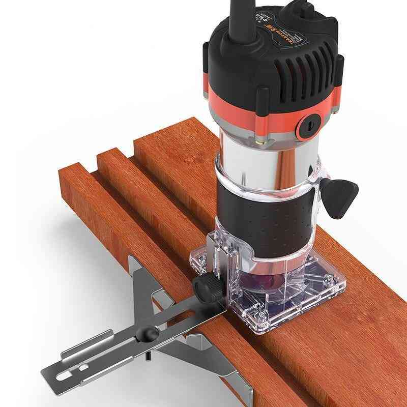 Electric Laminate, Edge Trimmer, Wood Router, Carving Machine Power Tools (with Milling Cutter)