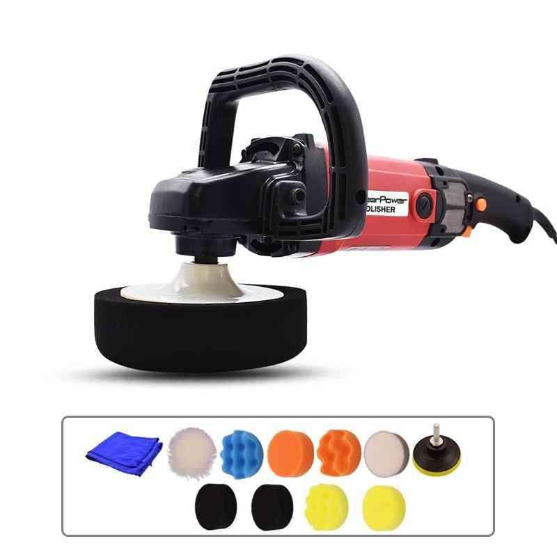 6-speed Disc Polisher, Electric Waxing Machine For Cars, Furniture, Polishing Tools