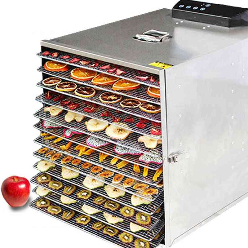 1000w-12 Layers Fruit Dryer And Food Dehydrator, Timing Machine