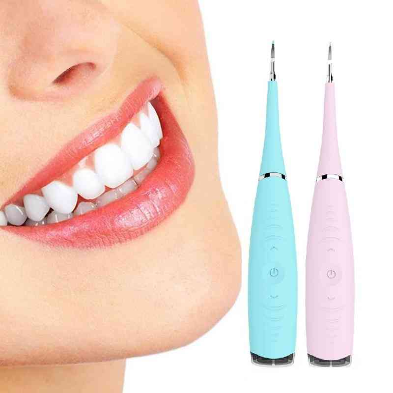 Electric Ultrasonic, Dental Scaler, Tooth Cleaner, Remove Whiten Teeth Tool