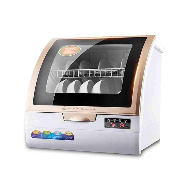 Home Free-installation Desktop Mini Dishwasher, High Temperature Sterilization Machine