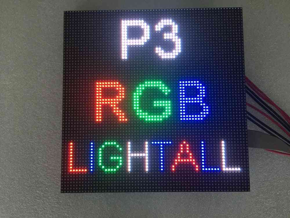 64x64 Indoor Rgb Hd P3 Indoor Led Module Video Wall High-quality Led Panel
