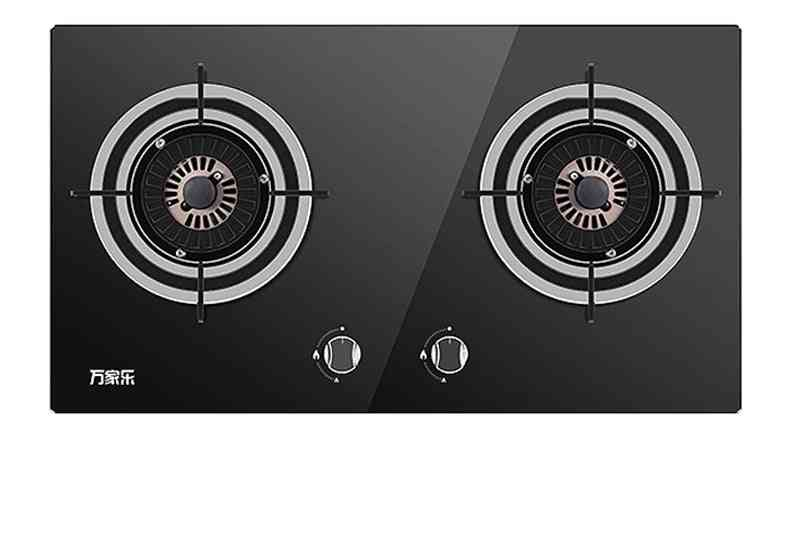 Double Burner Household Inserted  Gas Cooker