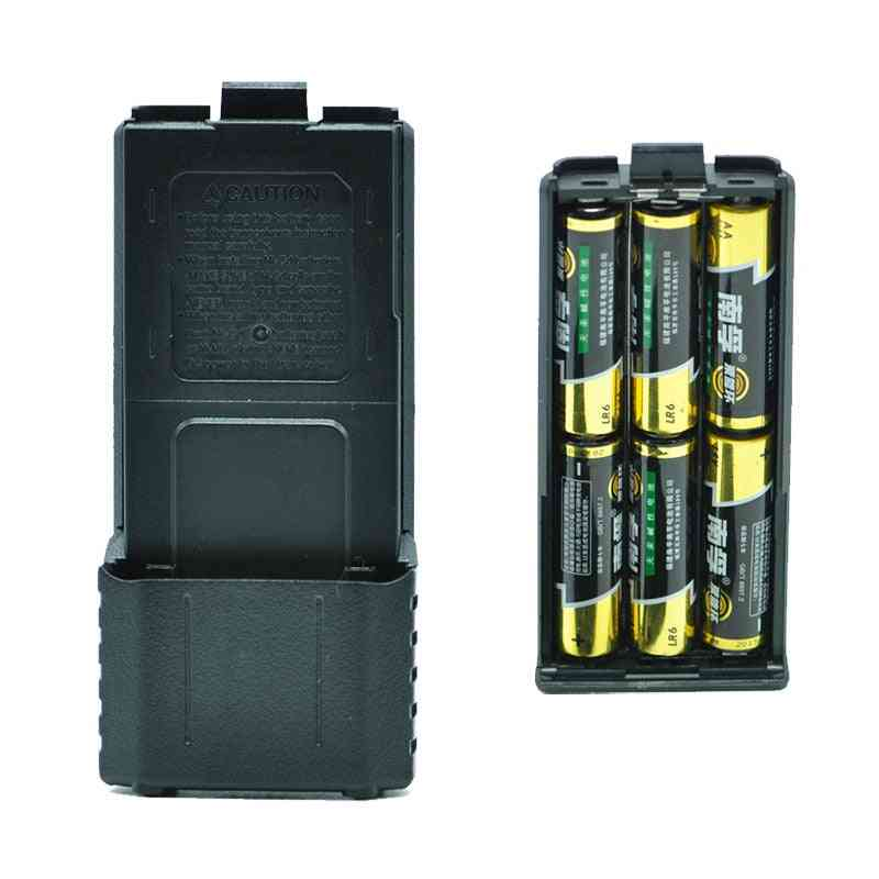 Portable- Walkie Talkie, Power Shell, Radio Backup, Batteries Cover
