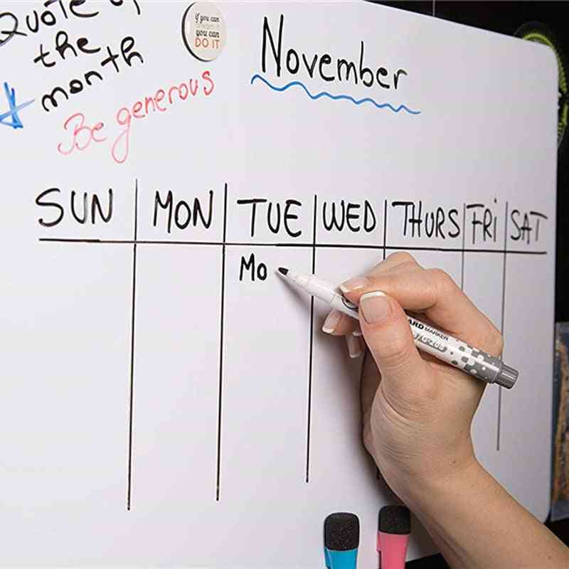 Magnetic White Boards, Fridge Stickers, Message Boards