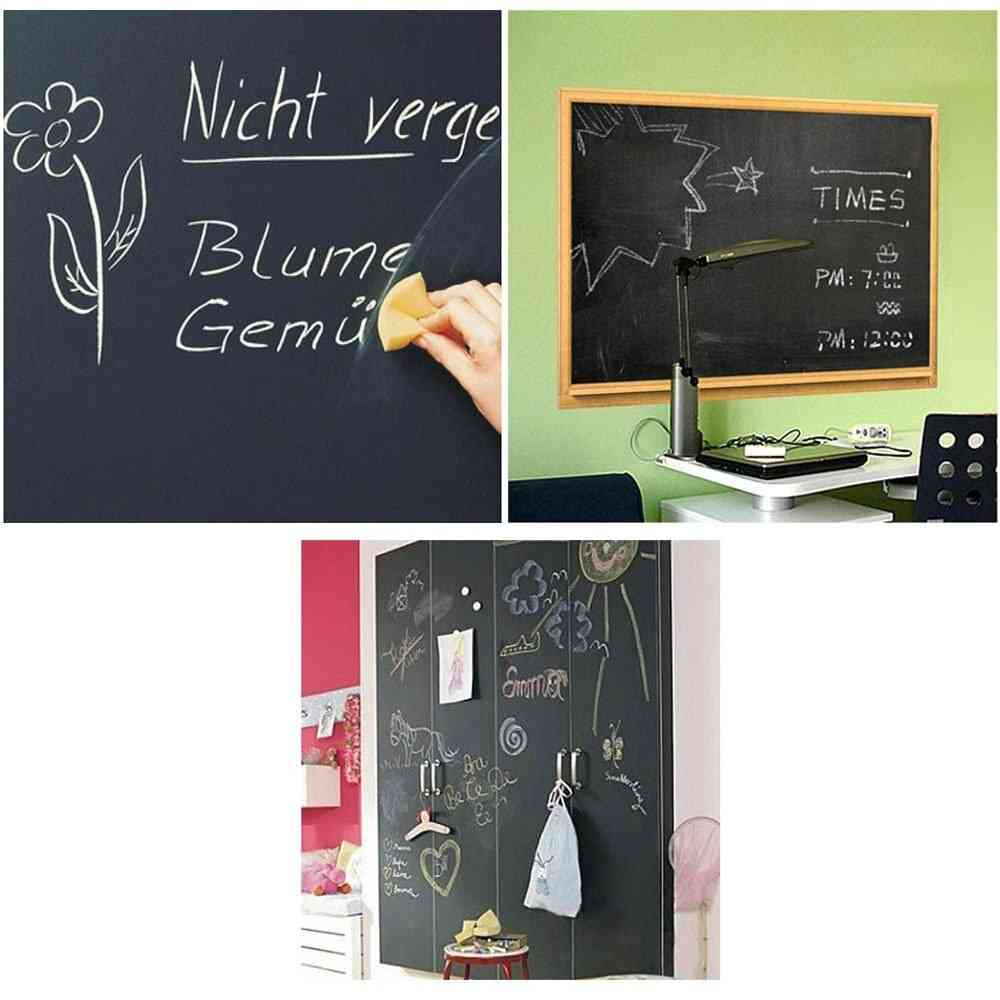 Self-adhesive, Roll Blackboard With Chalk