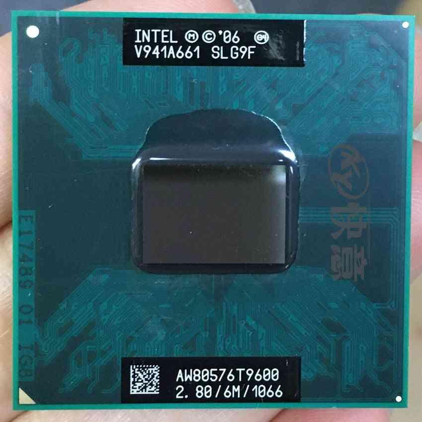 T9600/ 2-duo Cpu, 6m Cache/2.8ghz/1066/ Dual-core, Laptop Processor Socket