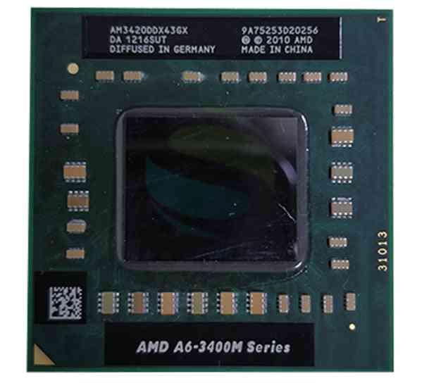 A6-3420m/ 1.5ghz/4m- Laptop Cpu, Processor Series Socket