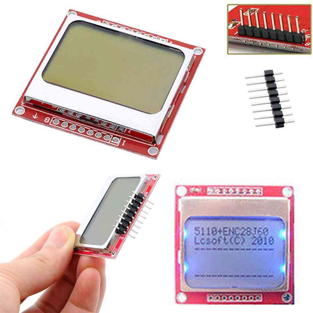 Smart Electronics Lcd Module Display Monitor, Backlight Adapter, Screen For Arduino
