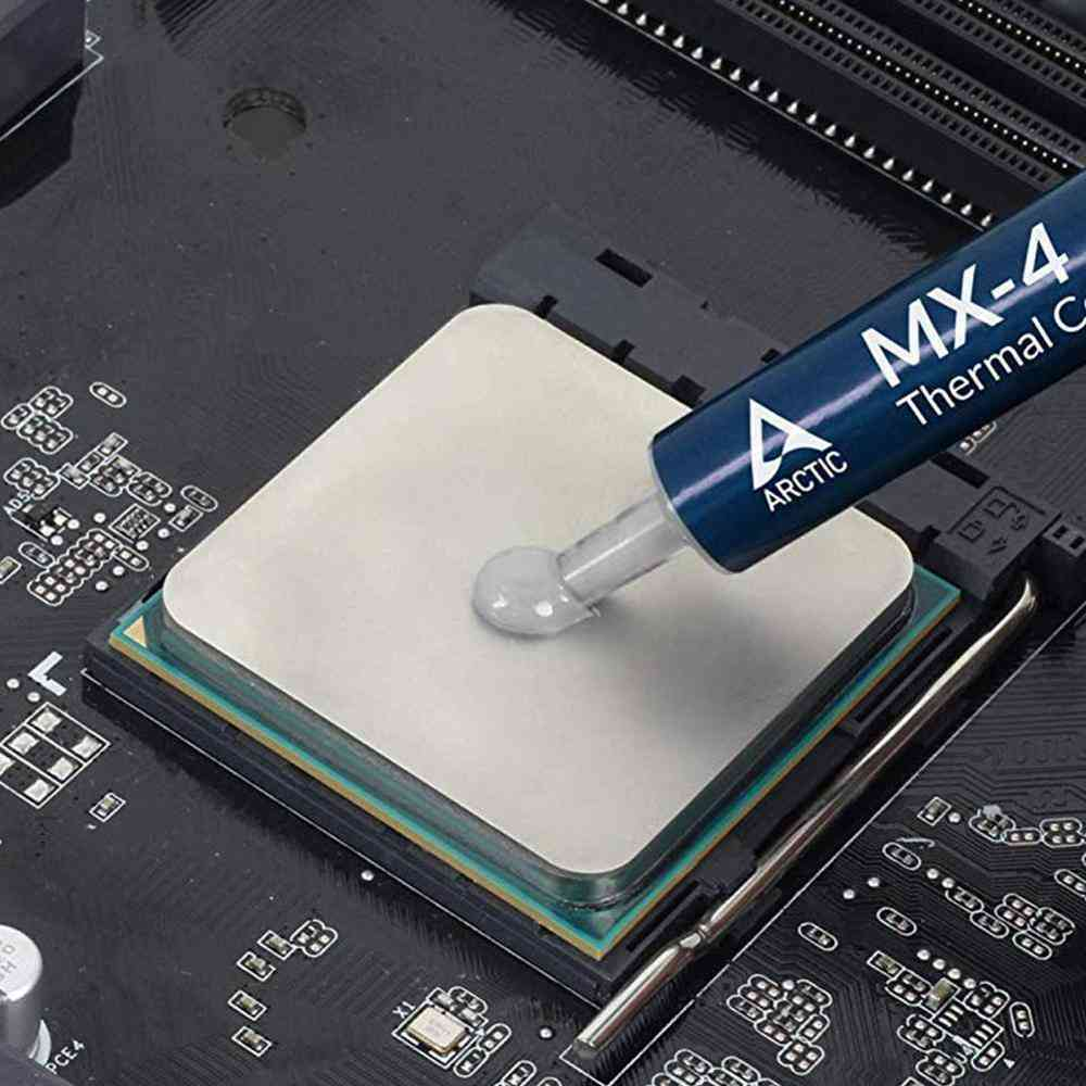 Thermal Paste Arctic 4g Mx 4 Cooler For Gpu / Cpu Heatsink Plaster Dissipative Compound Silicone